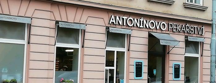 Antonínovo pekařství is one of Lucie : понравившиеся места.