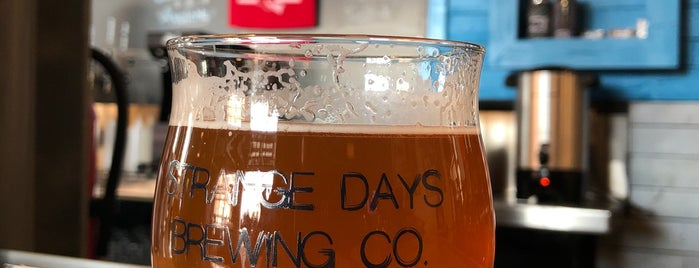 Strange Days Brewing Co. is one of KC Q and Brew.