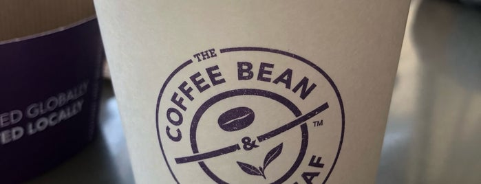The Coffee Bean & Tea Leaf is one of Ana 님이 좋아한 장소.
