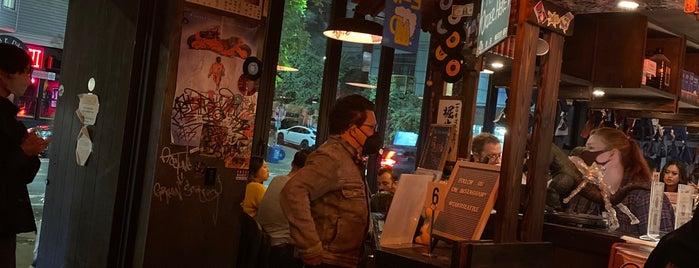Taku is one of Seattle date night.