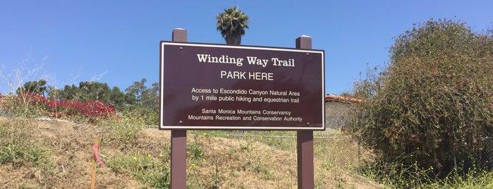 Winding Way Trail is one of Posti che sono piaciuti a Derek.