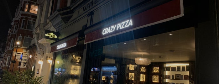 Crazy Pizza is one of United Kingdom 🇬🇧 (Part 2).