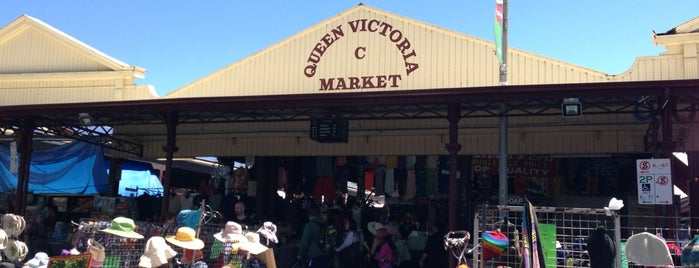 Queen Victoria Market is one of Explore the city of Melbourne.