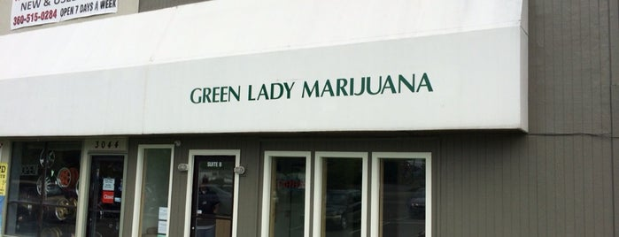 Green Lady Marijuana is one of Lieux qui ont plu à Wade.