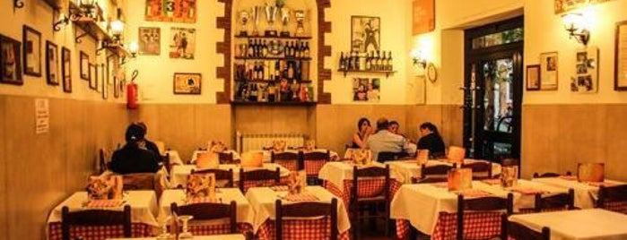 "Trattoria ""Da Oio"" A Casa Mia is one of Rome (Roma)."
