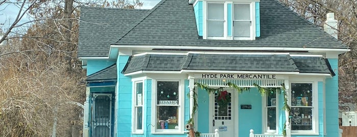 Hyde Park is one of Boise Family Trip.