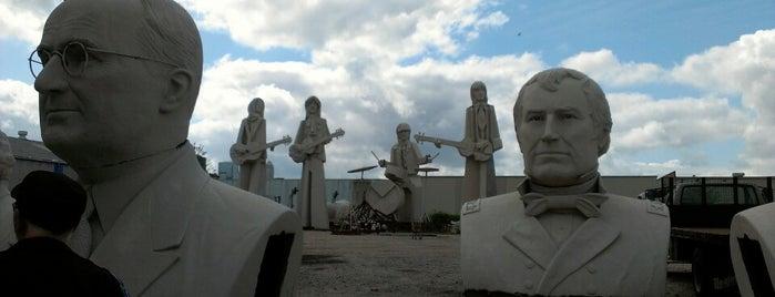 David Adickes Sculpturworx is one of Houston Points Of Interest.