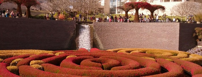 J. Paul Getty Museum is one of A Must! in Los Angeles = Peter's Fav's.