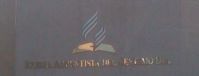 Iglesia Adventista is one of Iglesias Adventistas del Séptimo Día - DF.