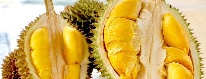 Ah Teik Durian Stall is one of Kuliner Penang.