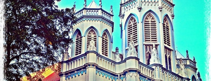 St Joseph's Catholic Church is one of Singapore Travel.