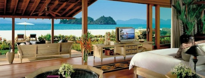 Four Seasons Resort Langkawi is one of Marina's Liked Places.