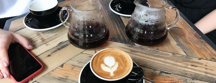 Laboratoria Coffee is one of Orte, die Uliana gefallen.