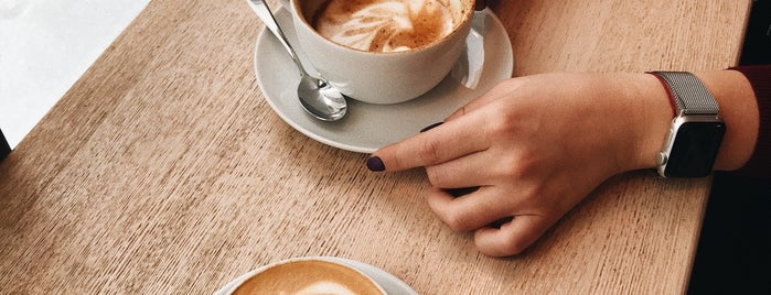 Coffeesphere is one of Orte, die Uliana gefallen.