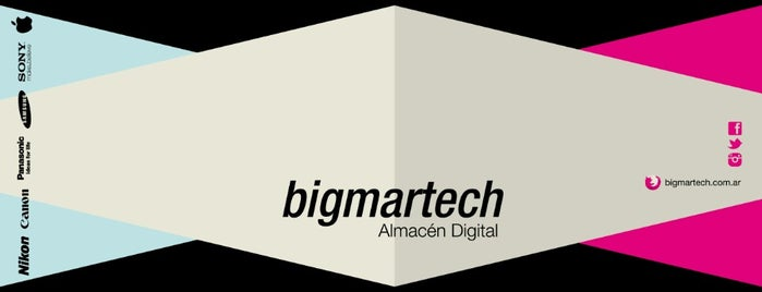 Bigmartech | Almacén Digital is one of Mis Lugares habituales!.