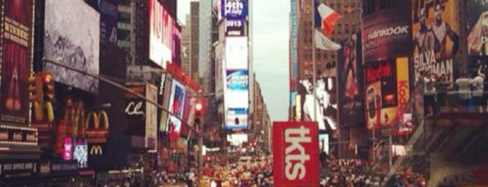 1 Times Square is one of Atlas Obscura NYC.