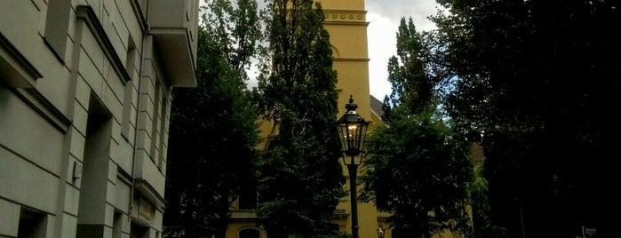 Gierkeplatz is one of Orte, die Babbo gefallen.