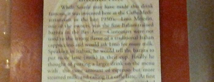 Caffe Mediterraneum is one of Matt 님이 저장한 장소.