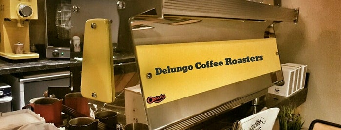 Delungo Coffee Roasters is one of Locais curtidos por Şahin.