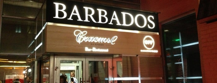 Barbados is one of Moscow Out.