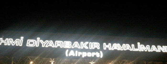 Diyarbakır Havalimanı (DIY) is one of Havaalanları.