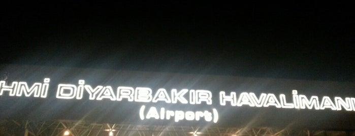 Diyarbakır Havalimanı (DIY) is one of Mustafaさんのお気に入りスポット.