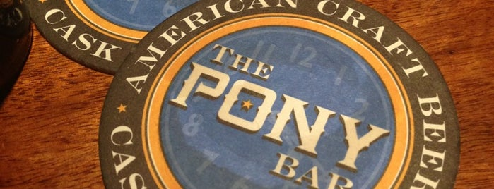 The Pony Bar is one of Craft Beer Pubs & Distributors.