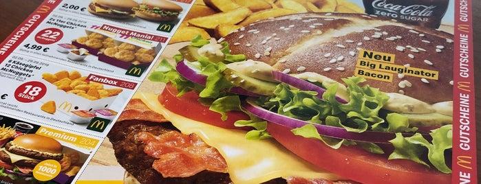 McDonald's is one of Kaffee/Kuchen - Barometer 2014.