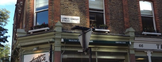 Lambs Conduit Street is one of London.
