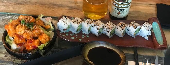 Kaen Sushi is one of Gidilecek.