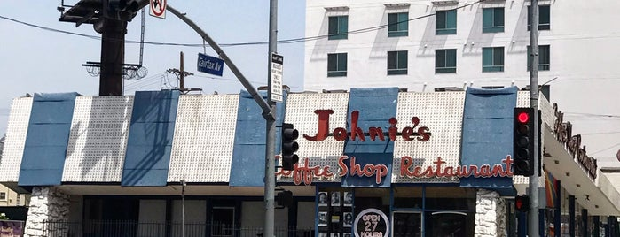 Johnie's Coffee Shop is one of LA.