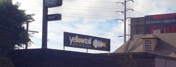 yellowtail is one of LA.