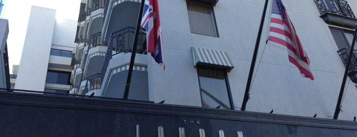 The London West Hollywood at Beverly Hills is one of Fave Hotels & Resorts.