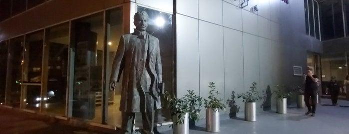 Nazım Hikmet Kültür Ve Sanat Evi is one of สถานที่ที่ Gülçin ถูกใจ.