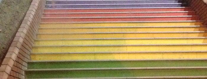 Fındıklı Renkli Merdivenler is one of Istanbul, Turkey.
