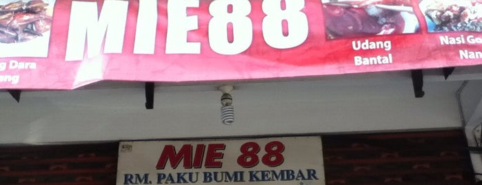 Mie 88 is one of Must-visit Food in Bali.