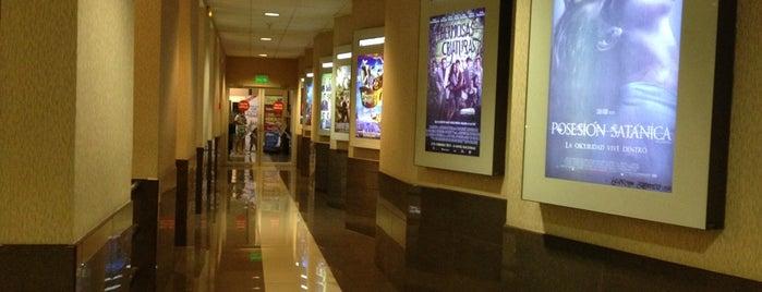 Cinemark is one of CINES Y CENTROS COMERCIALES.