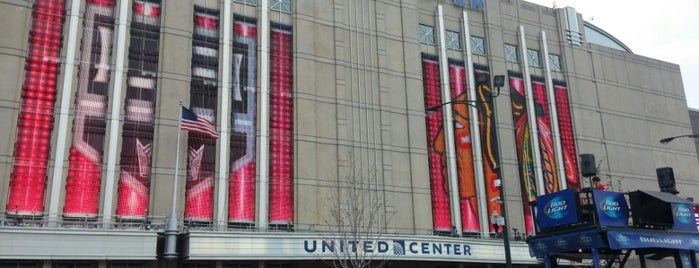 United Center is one of Traveling Chicago.
