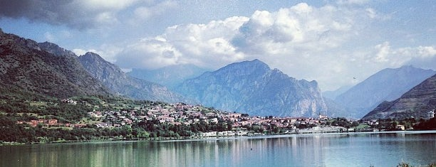Lago di Annone is one of Italy.