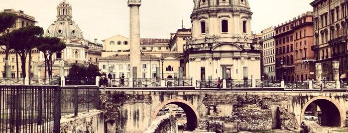 Foro di Traiano is one of Rome / Roma.
