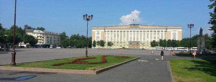 Площадь Победы-Софийская is one of Lieux qui ont plu à Katia.