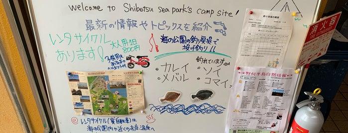 しべつ海の公園オートキャンプ場 is one of アウトドア&景観スポット.