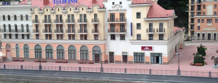 Park Inn by Radisson Rosa Khutor is one of Orte, die Olga gefallen.