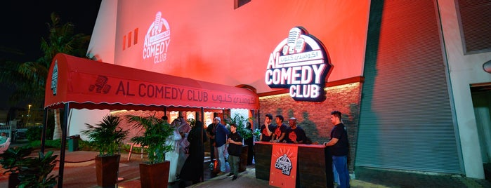 AlComedy Club is one of Locais curtidos por hussain.