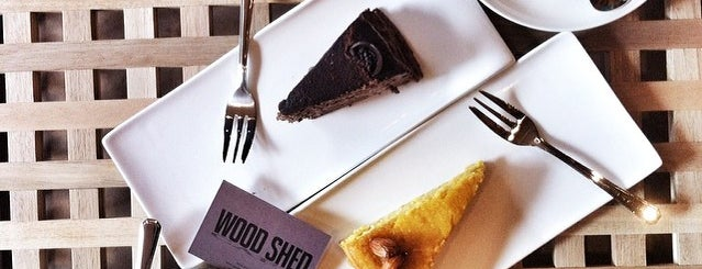 WoodShed is one of Desserts/Pastries/Cafes.