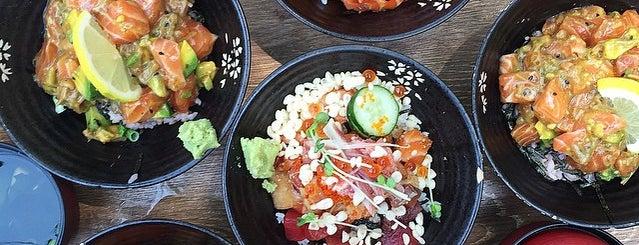 Koji Sushi Bar is one of SG.