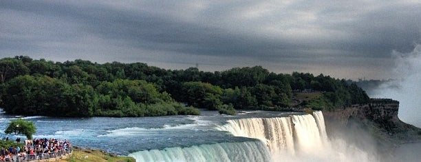Niagara Falls (American Side) is one of Lieux qui ont plu à İpek.