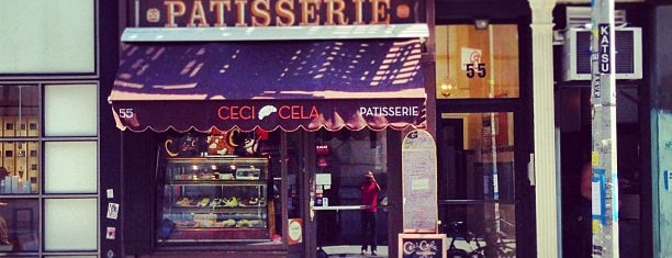 Ceci-Cela is one of The New Yorkers: The Sweet Life.