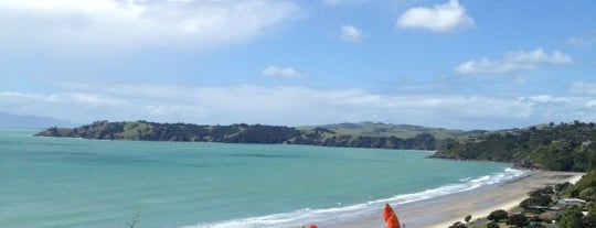 Onetangi Beach is one of New Zealand.