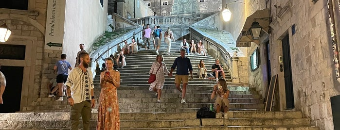 Jesuit Stairs is one of Dubrovnik.